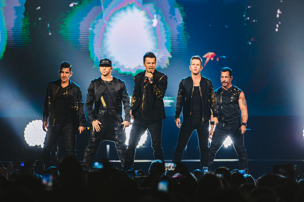 NKOTB Prove Their Package