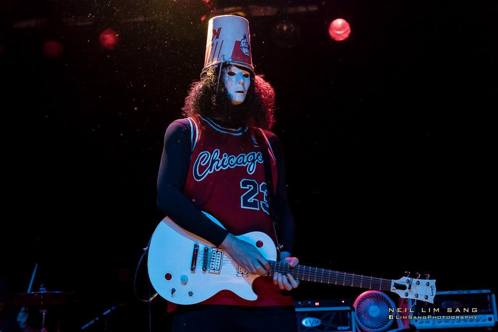 instinto fluir Desgastar  The Face-Melting Mysteries Of Buckethead - Seattle Music News