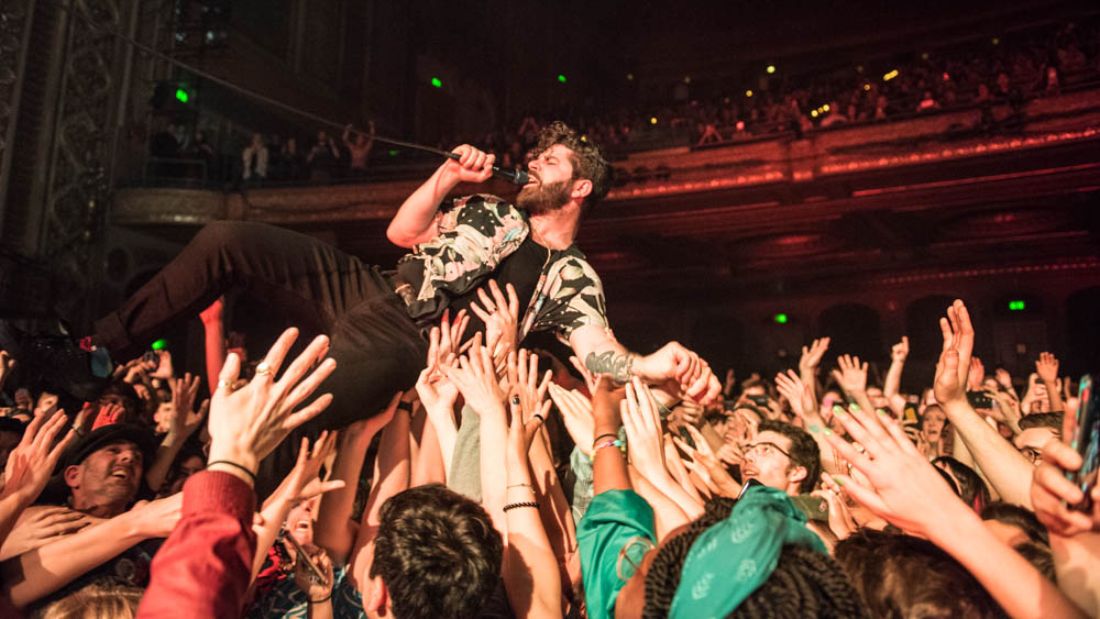 Foals Float Through Seattle